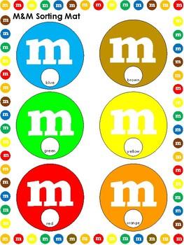 M&M Math themed Activities