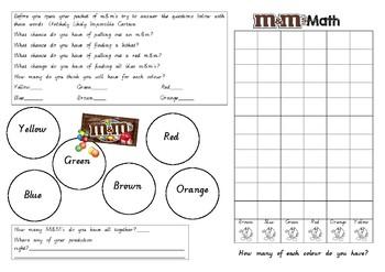 M&M Maths Chance