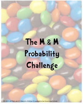 M&M Candy Probability and Fractions Challenge