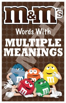 M&M Room Poster (Words with Multiple Meanings)