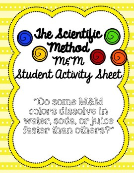 M&M Scientific Method Activity