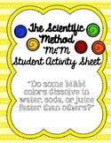 M&M Scientific Method Activity