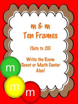 M & M Ten Frames- Sets to 20