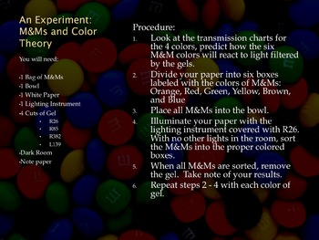 M & M and Color Choices