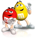 M & M math: adding and subtracting fractions
