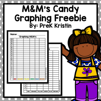 M&M's Candy Graphing Freebie