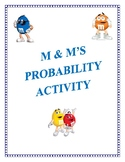 M & M's Probability Experiment