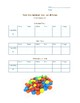 M&M's Probability Unit - end of the year project activity