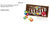 M & M's and the Scientific Method