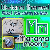 M = Marama Moon {Kiwiana Themed 'Make & Take' Alphabet Set}