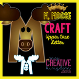 M - Moose Upper Case Alphabet Letter Craft