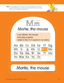M: Mortie, the Mouse