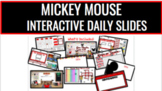 M. Mouse Interactive Daily Slides [for Google Drive]