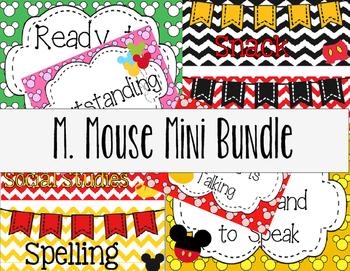 M. Mouse Mini Bundle