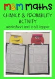 M&Ms Maths Chance & Probability Activity with Craft Topper