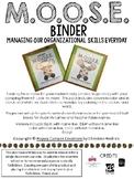 M.O.O.S.E. Binder Cover- Camping/Woodland Theme Companion