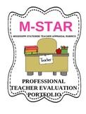 M-STAR Teacher Evaluation Portfolio- Printer Ink Friendly Version