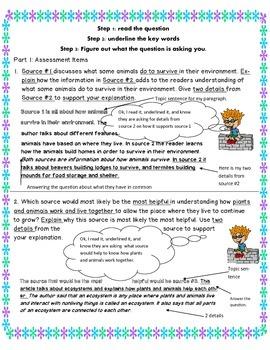 M-STEP 4th grade ELA performace task review