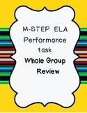 M-STEP ELA 4th grade performace task review