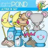Letter M Clipart Set