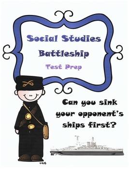 M-Step 5th grade Social Studies Test Prep Game: Battleship
