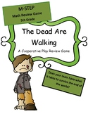 M-Step 5th grade Test Review Game (The Dead are Walking) Co-op game