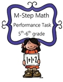 M-Step Math Activity Performance Task: The Adventure Park 5th and 6th Grade