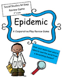 M-Step Social Studies 5th Grade Review Game: Epidemic (Cooperative Play Game)
