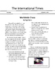 M-Step Social Studies 5th Grade Review Game: Epidemic (Cooperative Play Game)