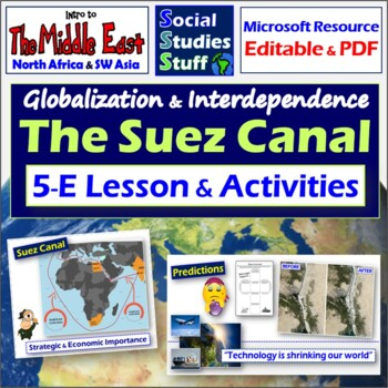 The Suez Canal:Trade in the Middle East through History (5