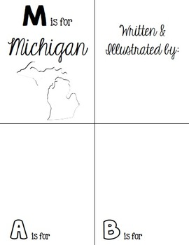 M is for Michigan (A State Alphabet Book)