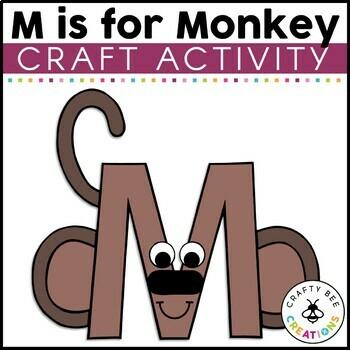 Letter M Craft {Monkey}
