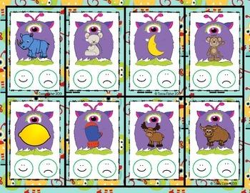 Letter of the Week - M is for Monsters Preschool Kindergarten Alphabet Pack
