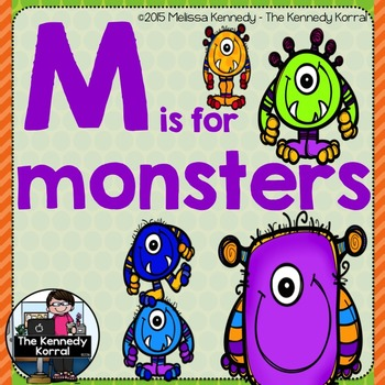Letter M is for Monsters {Halloween}