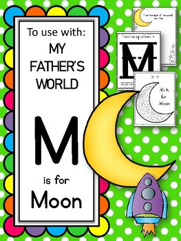 M is for Moon. To use with My Father's World. Alphabet Worksheets