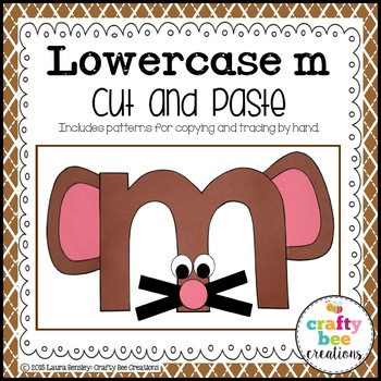 Letter M Craft {Mouse}