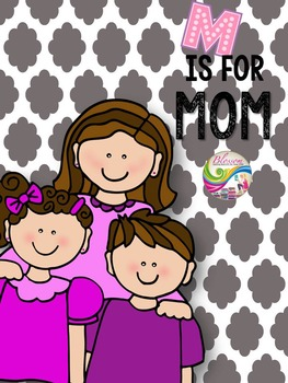 M is for mom (mother's day activity pack)