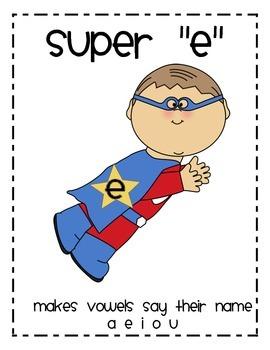 """Super """"E"""" poster"""