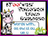 """M""""oo""""vin' through  Word Building  - Words with oo, ew, ui,"""