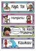 Maori Medium Daily Visual Timetable EDITABLE