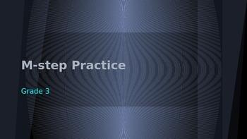 M-step Practice Grade 3