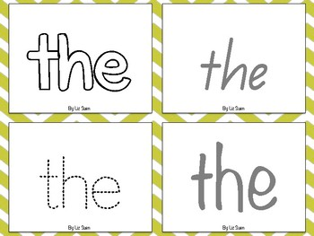 M100 Words Tracing in 4 different fonts including Queensland Font