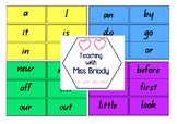 M100W Word Wall Cards