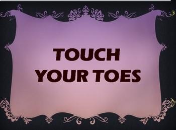 Sight Words/M100Words Fun & Active Slideshow