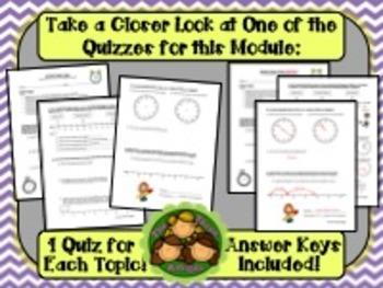 M2 Eureka Math - Topic Quiz Bundle (Grade 3)