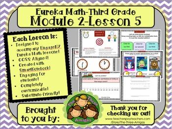M2L05 Eureka Math-Third Grade: Module 2-Lesson 5 SmartBoar