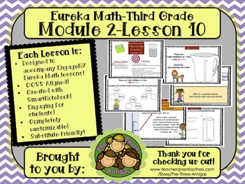 M2L10 Eureka Math-Third Grade: Module 2-Lesson 10 SmartBoa