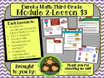 M2L13 Eureka Math-Third Grade: Module 2-Lesson 13 SmartBoa