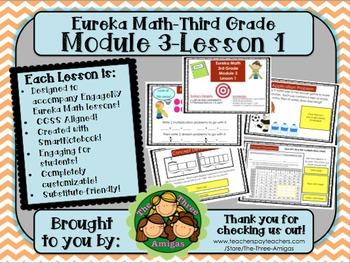 M3L01 Eureka Math-Third Grade: Module 3-Lesson 1 SmartBoar