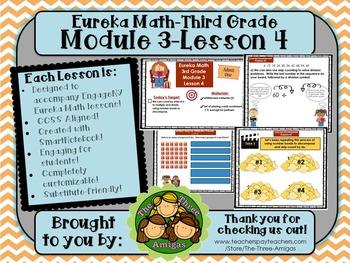 M3L04 Eureka Math-Third Grade: Module 3-Lesson 4 SmartBoard Lesson